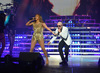 "Jennifer Lopez - Performed with Pitbull at ""Time of Our Lives Las Vegas"" - at The AXIS at Planet Hollywood"