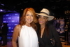 Multi-talented entertainers spotted -- comparing notes at Planet Hollywood Show opening