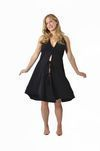 Pretty Pushers Little Black Dress Labor Gown