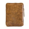 Tan Vintage Leather iPad Case