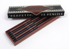 Elegant Double-Tipped Red/Black Designer Pencils