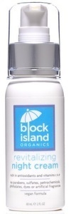 Block Island Organics Revitalizing Night Cream