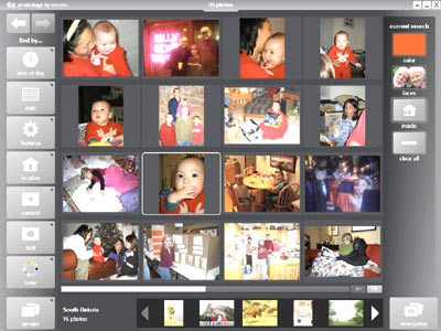 Find and organize your photos quickly and easily
