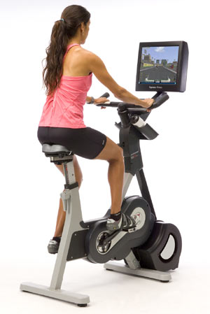 Riders on the S2u enjoy a stimulating workout that is as exciting as it is effective