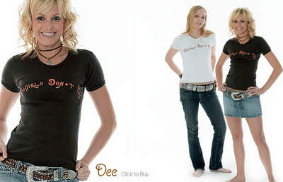 Cowgirls Don't Cry Dee Top (Black)