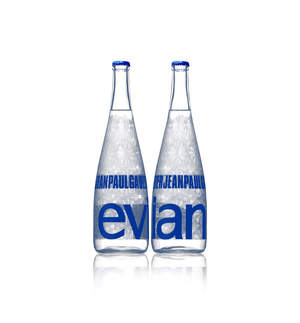 Jean Paul Gaultier Evian Bottle