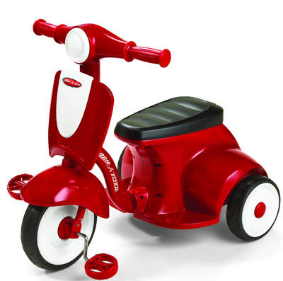 Radio Flyer Classic Lights & Sounds Trike, also available in mod pink
