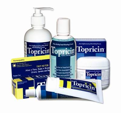 Topricin Pain Relief And Healing Cream For The Whole Family