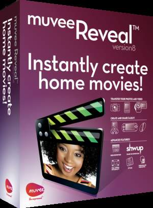 muvee Reveal 8 1-2-3 HD video software