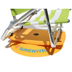 Sunswivel, Swivel around with your beach chair