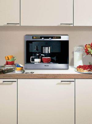 Create your very own coffee shop with the Miele CVA 2650 ST