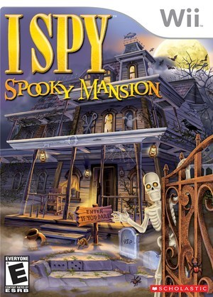 Cover Shot of I SPY Spooky Mansion for Wii