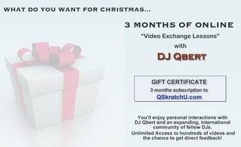 3 Months of Unlimited Lessons with DJ Qbert