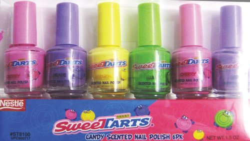 SweeTarts Candy-Scented Nail Polish by Almar